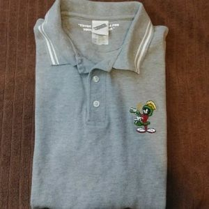 Marvin the martian vintage polo